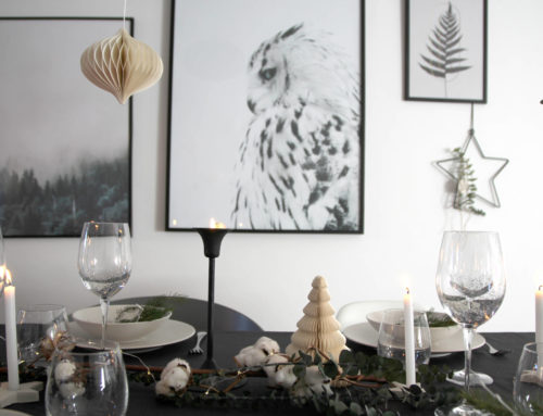 [Déco de fête] Ma table de  Noël sur son 31