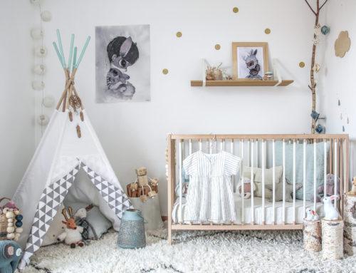 Dans la chambre de baby Lou