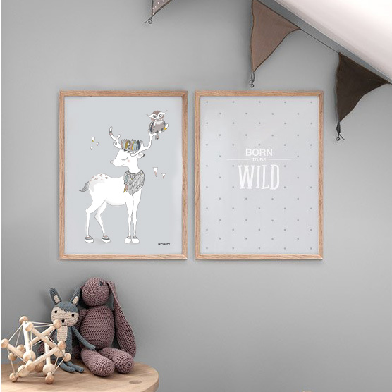illustration deer decoct