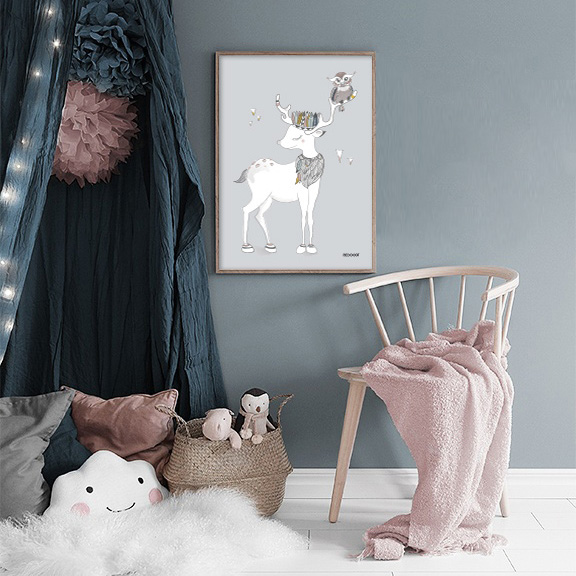 inspiration decoration chambre enfant affiche decocot