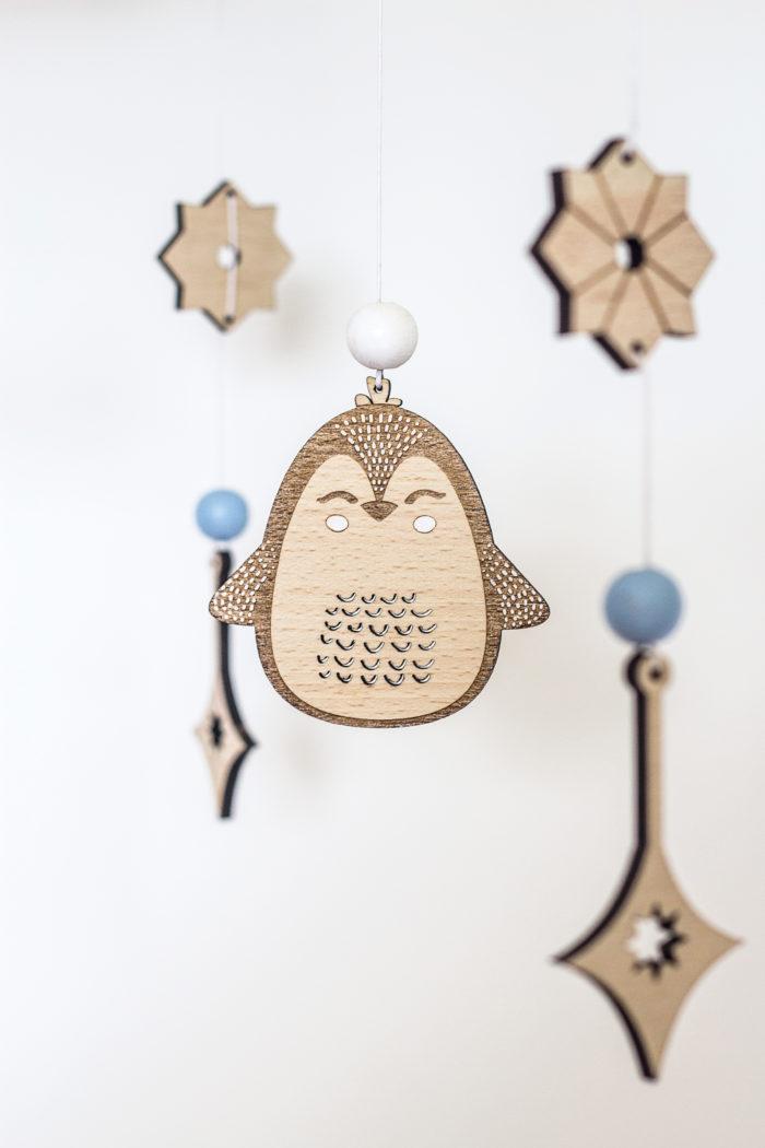 detail décoration chambre bébé baby mobile decocot