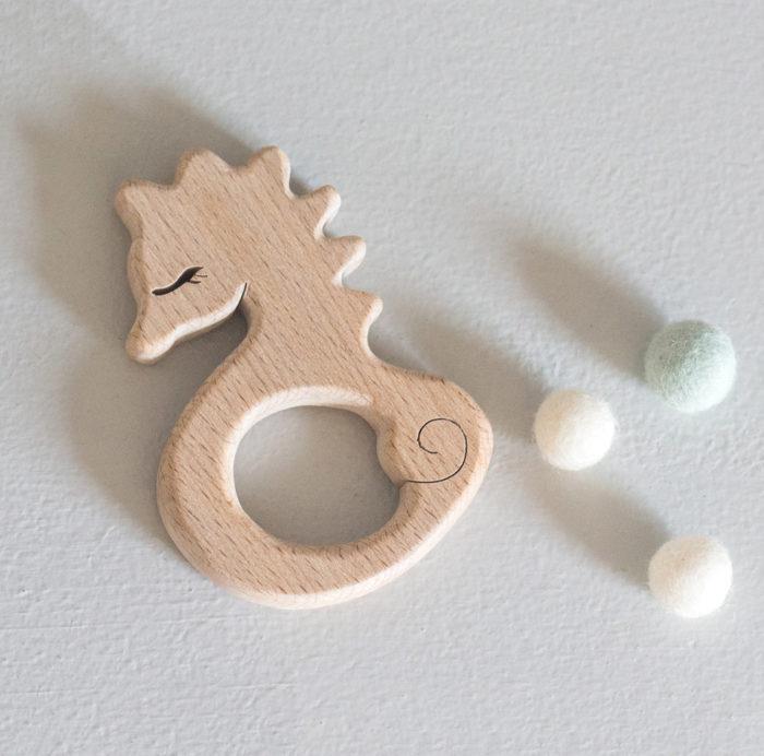 anneau dentition bois hippocampe decocot