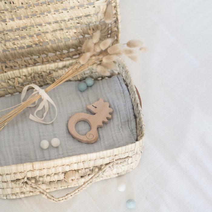 cadeau naissance idéal bebe anneau dentition france decocot