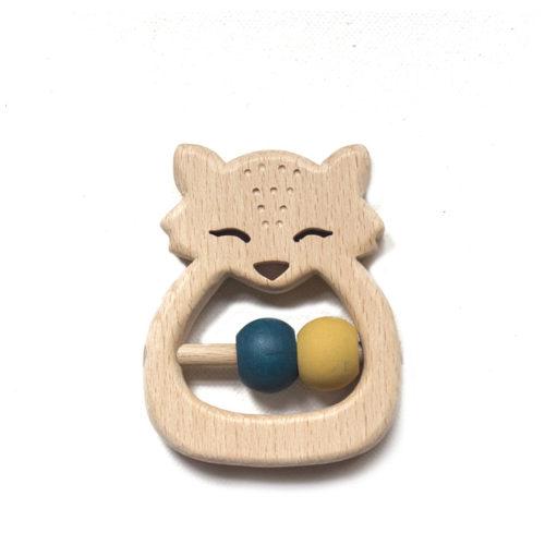 hochet bébé design et bois français par decocot
