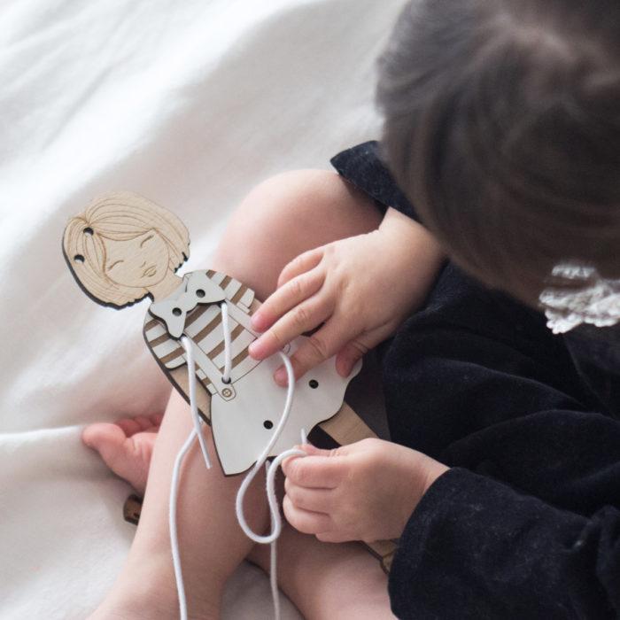 jeu lavage et réflexion en bois decocot idée cadeau