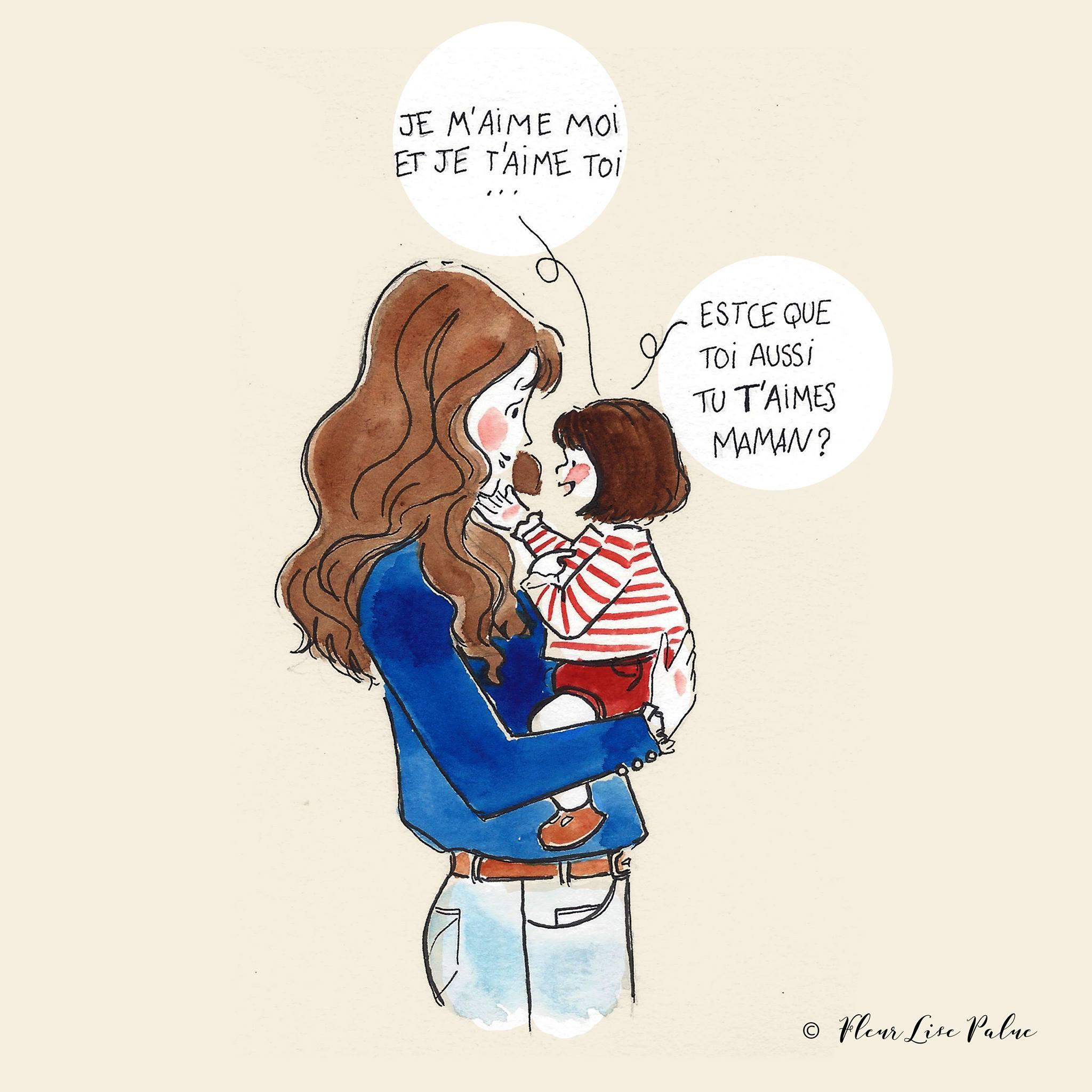 blogzine famille maman blogueuse illustration