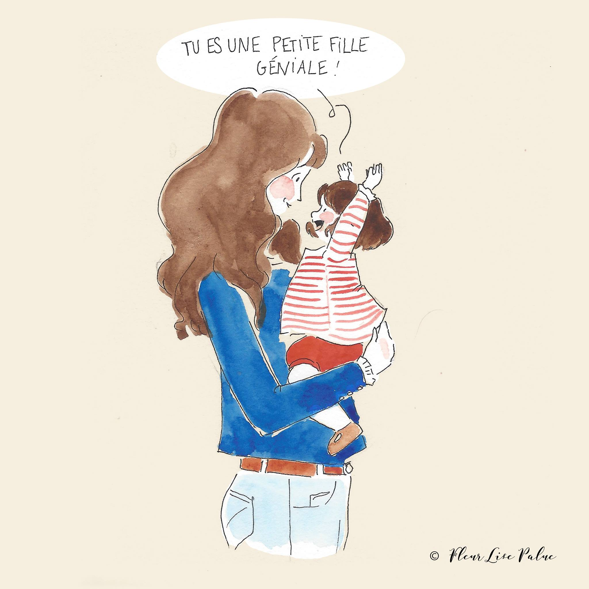 blogzine famille maman blogueuse illustration fleuries palue