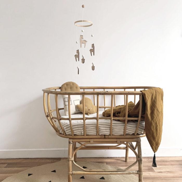 cadeau de naissance mobile bebe décoration design decocot