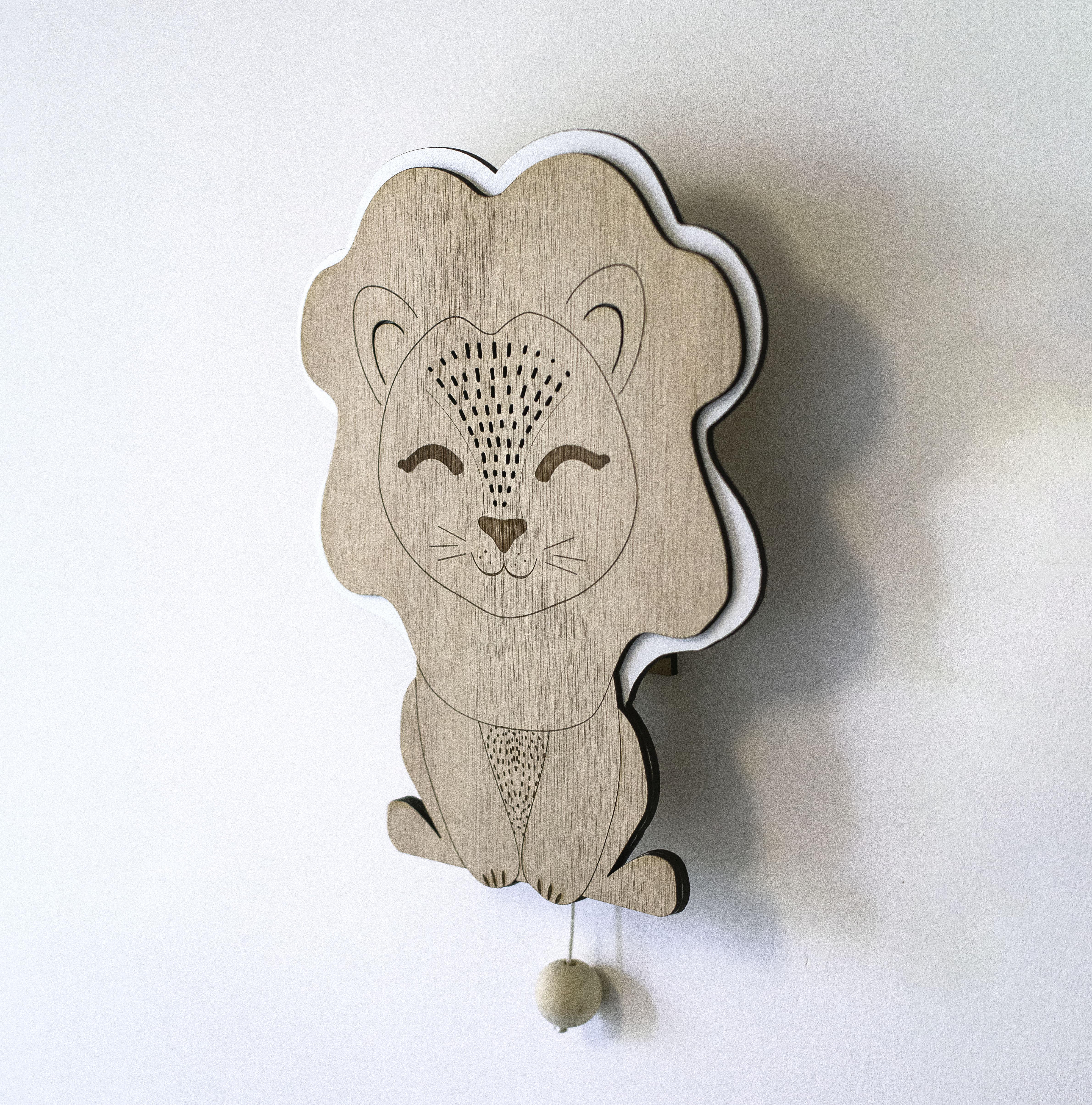 boite musique lion