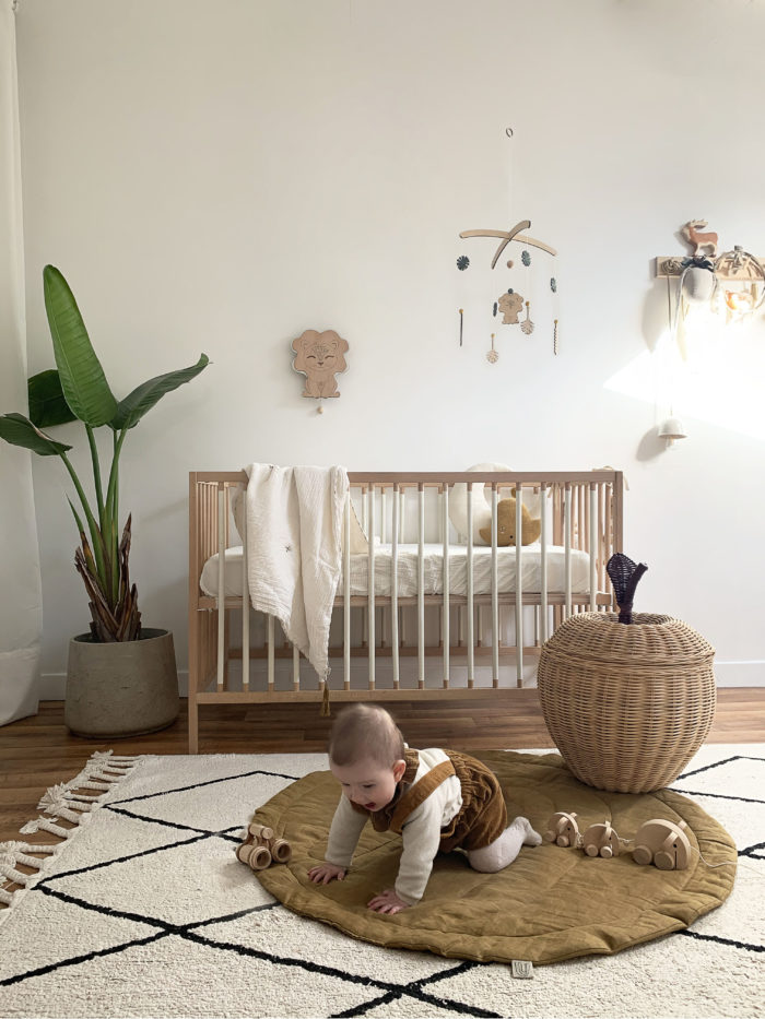 chambre enfant nature jungle