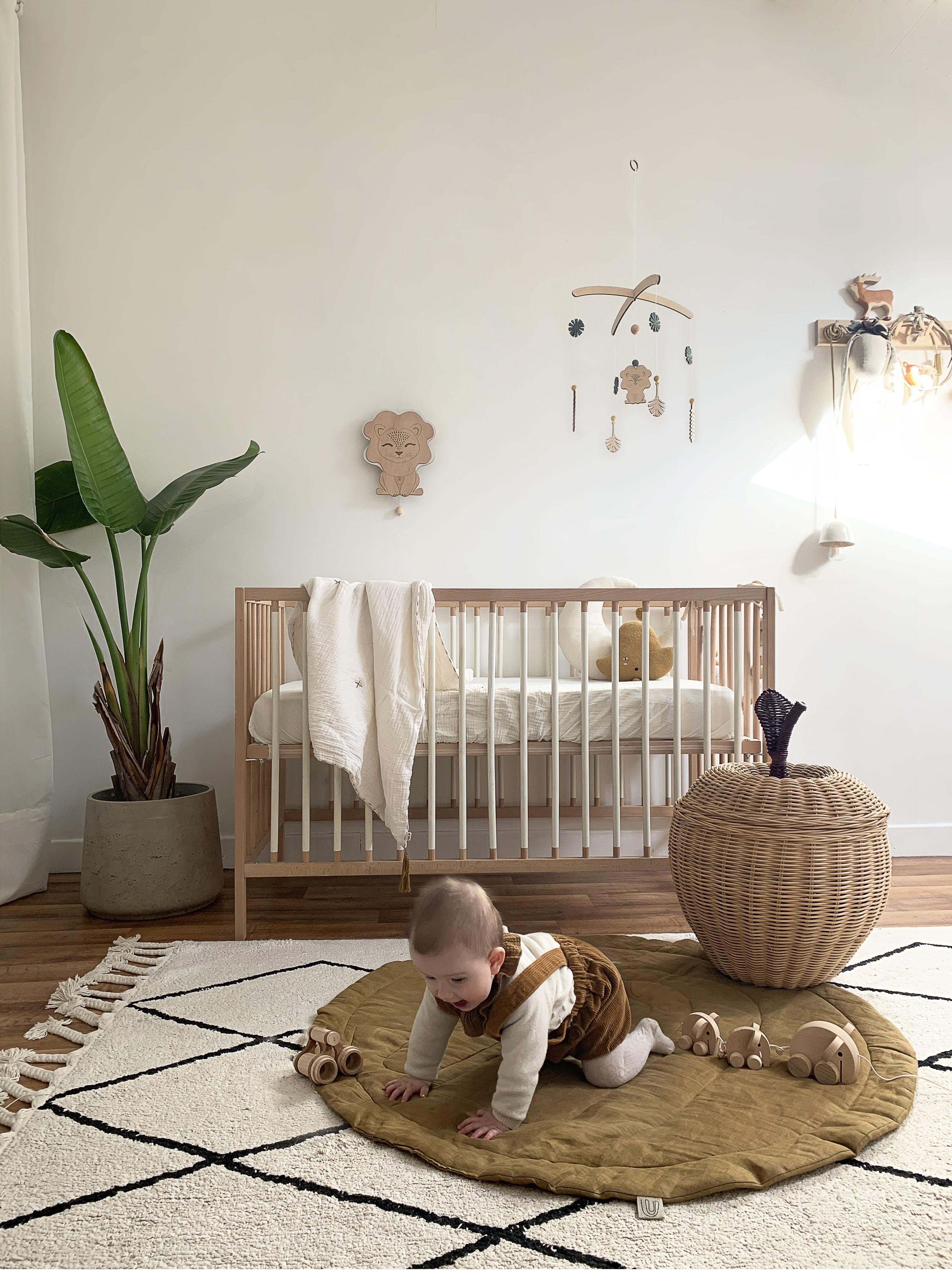 chambre enfant nature jungle