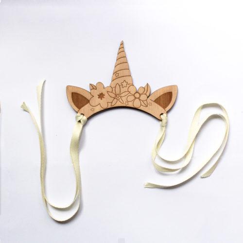 couronne de poupée paola reina accessoire en bois decocot